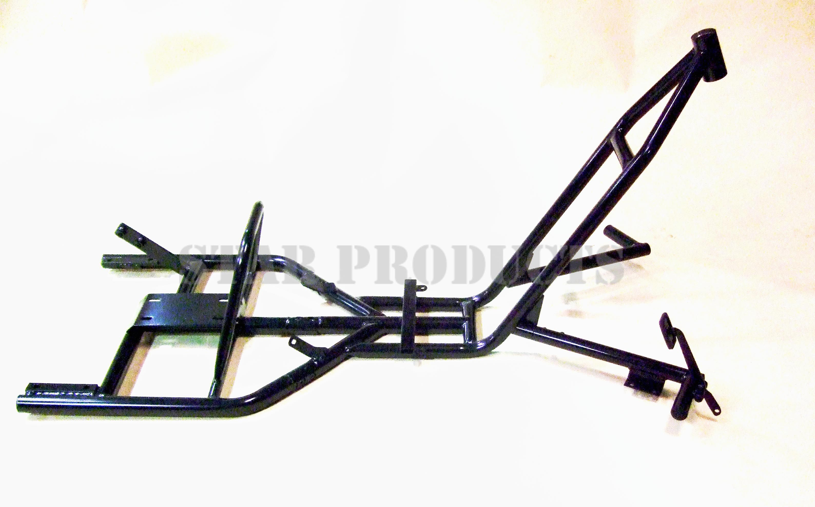 Motorised Drift Trike Frame - Black | Star Products | Drift trike ...