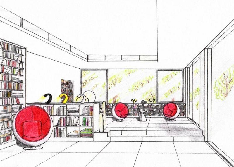 interior design sketch portfolio wohndesign berpr fen sie mehr rh pinterest co uk