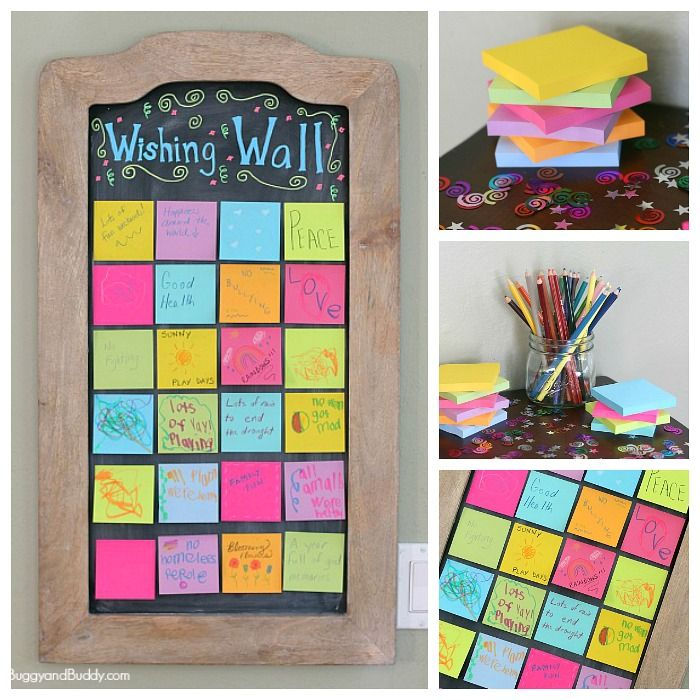 New Year's Eve with Kids: Wishing Wall Activity   Discover ...