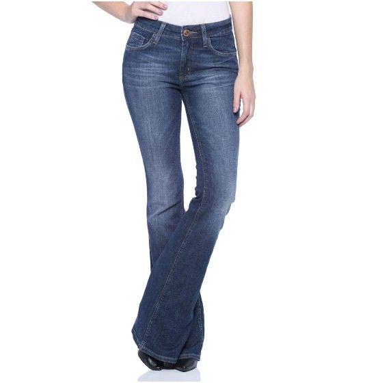 81a4071a0 Calça Feminina Reta - Damyller | Calças | Calça jeans reta feminina ...