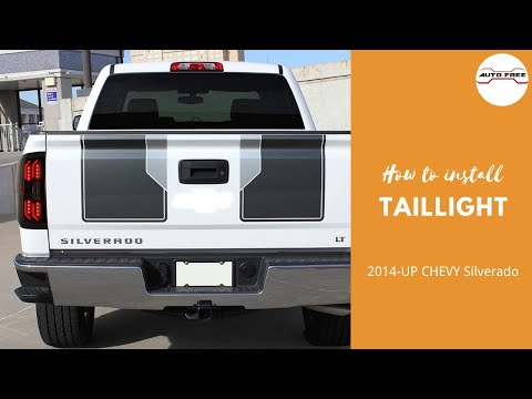 Tail Lights Install 2014 Up Chevy Silverado Autofree Led Tail Lamp Replacement Step By Step Usa Youtube Chevy Silverado Tail Light Chevy