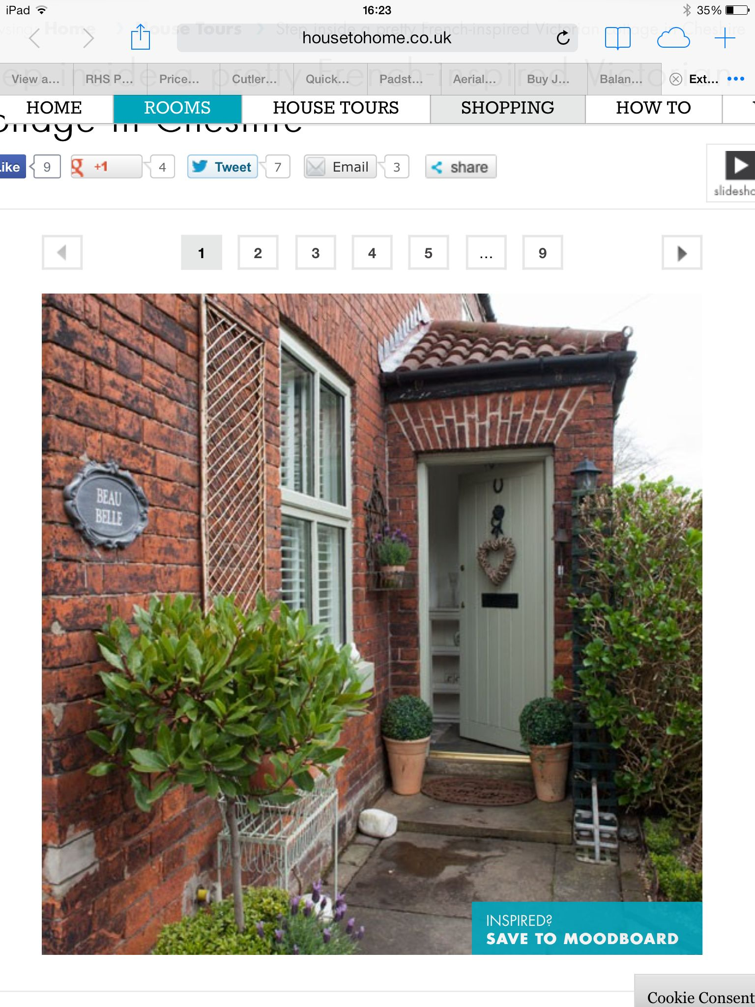 Love this as an alternative entrance, move Front door to the side ...