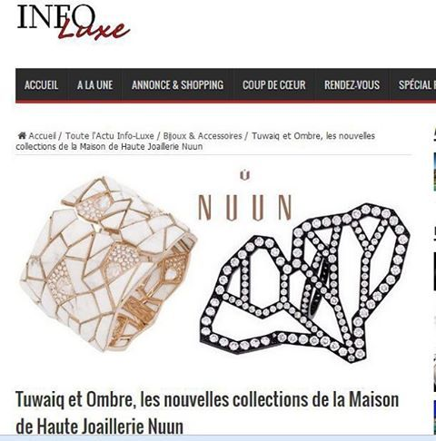 #nuunjewels #tuwaiq #ombre #diamonds #howlite #ginkgo #riyadh #paris #press #blessed #ilovemyjob