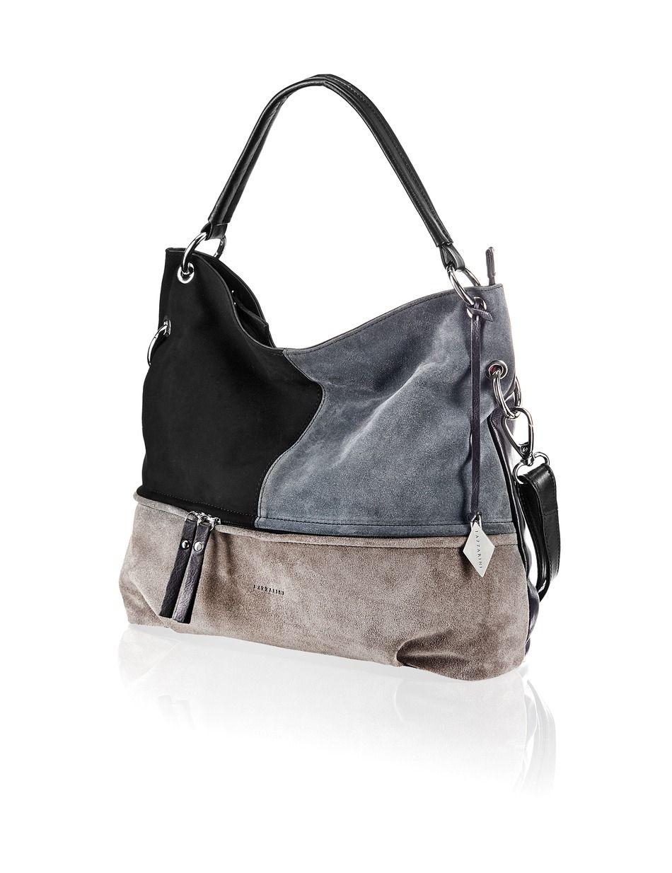 Lazzarini City Bag schwarz Gratis Versand | Taschen
