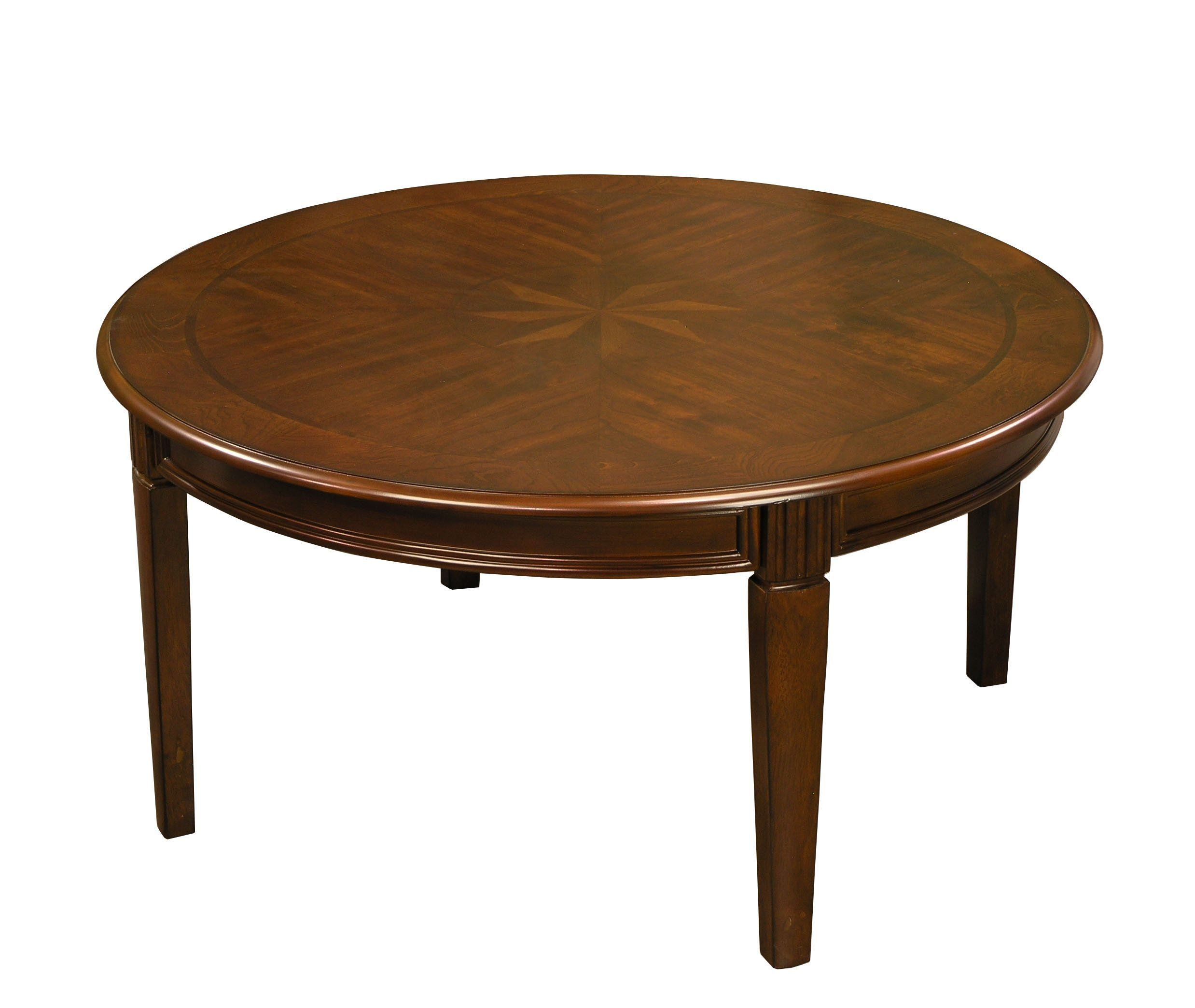 Amazon Com Classic Round Coffee Table And Matching Accent Table