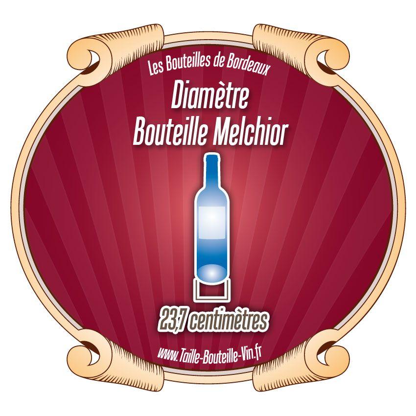 Diamètre bouteille Melchior Bordeaux