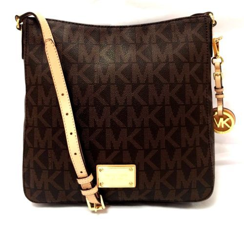 Purse �� MICHAEL-by-Michael-Kors-Jet-Set-Brown-Large-