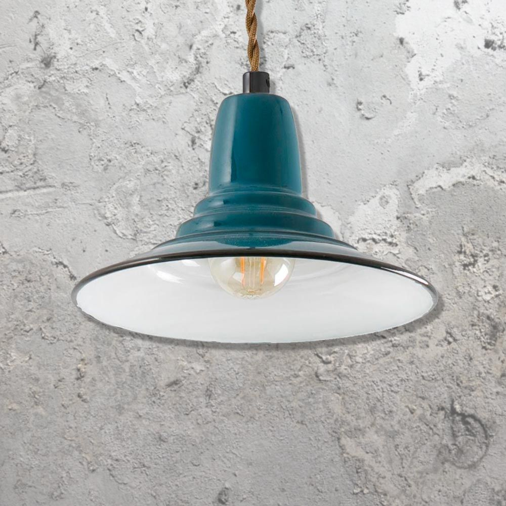 Blue Industrial Pendant Light Cl 32675 Industrial Pendant Lights