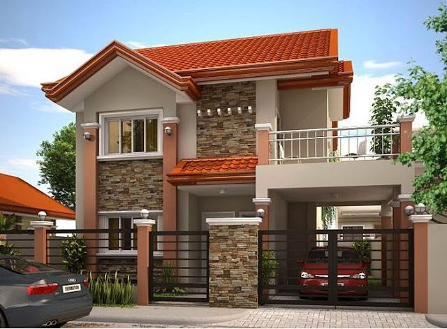 33 Beautiful 2 Storey House Photos Philippines House Design House Front Design Two Story House Design