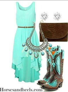 f47948127b7 country girl dresses with boots - Google Search