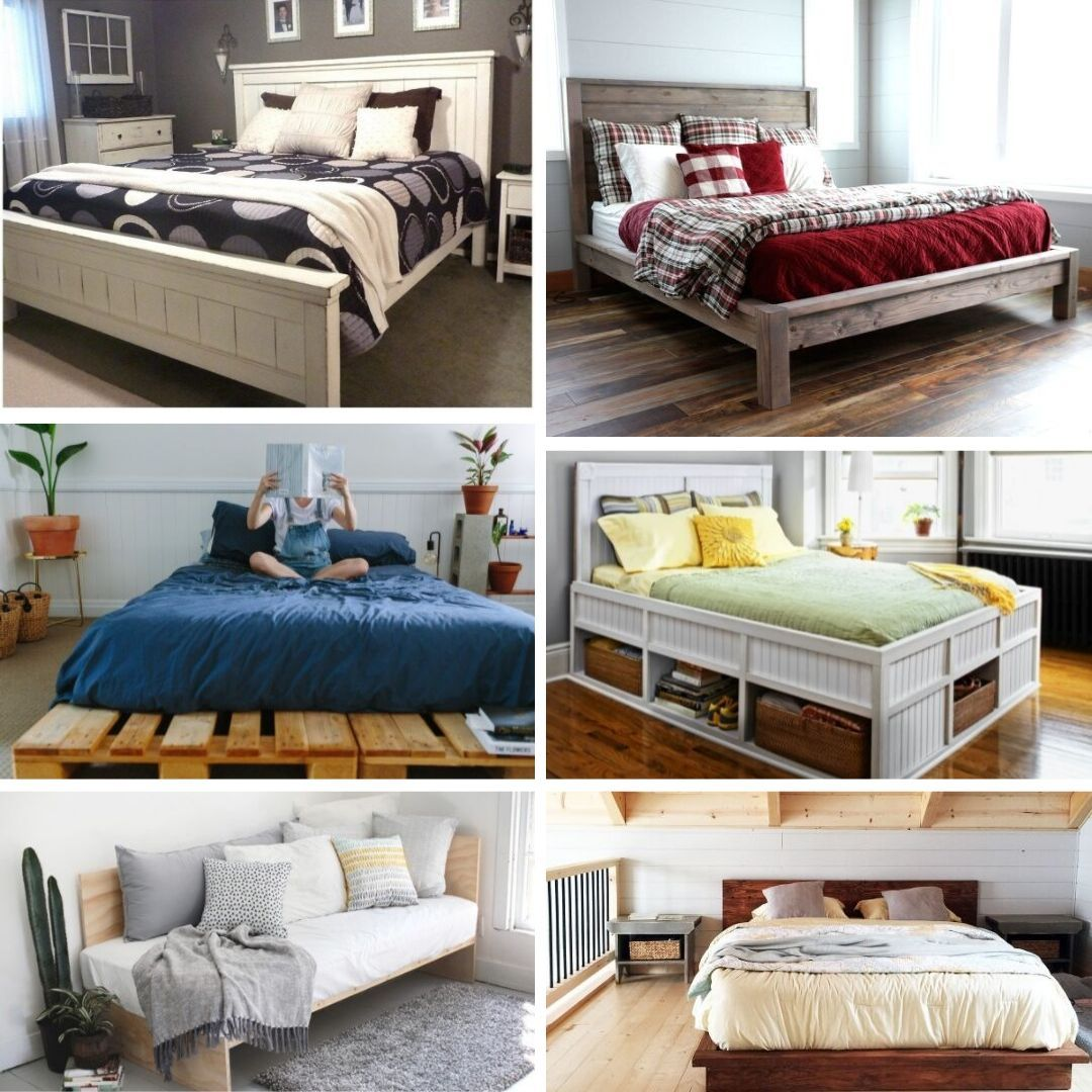 61 easy diy bed frames you can build on a budget loft