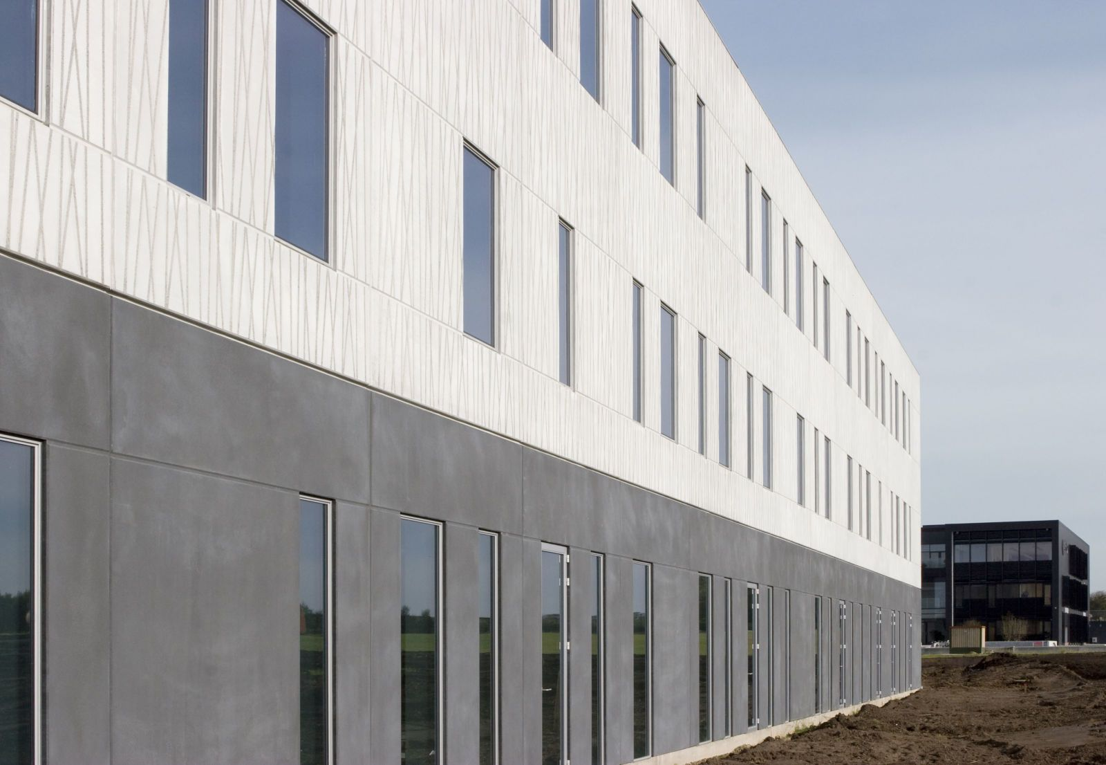 Graphic Concrete referenssi: Viborg, Office Building