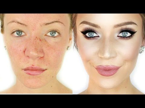 How to Hide Your Pores! Flawless Foundation Routine - YouTube ...