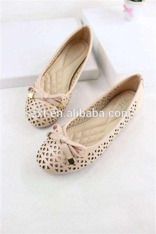 f56eaa02b9f2 Cheap new design nude ballet flats shoes China women big size ballerina  shoes summer laser shoes