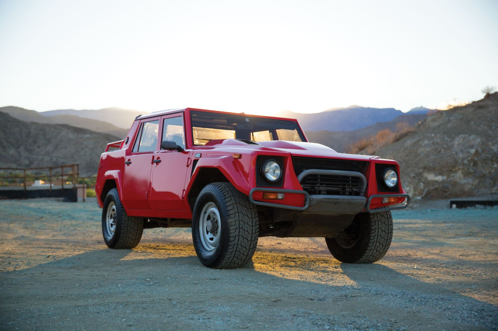 This Outrageous 80s Lambo Suv Should Be A Steal Lamborghini