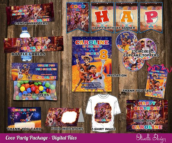 011b12988 Coco Birthday Party Package