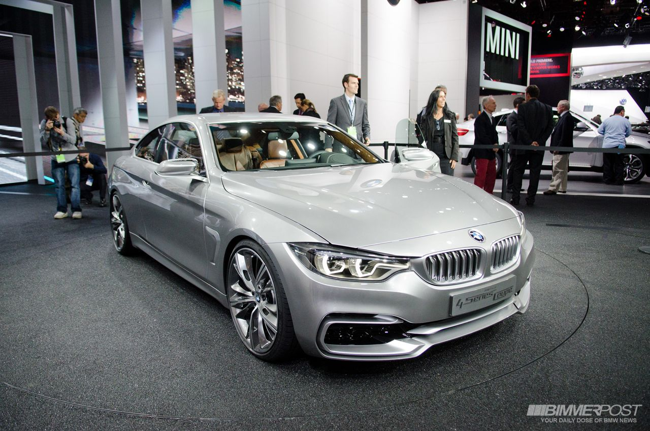 2013 NAIAS: BMW 4 Series Coupe Concept and BMW M6 Gran Coupe - BMW 3 ...