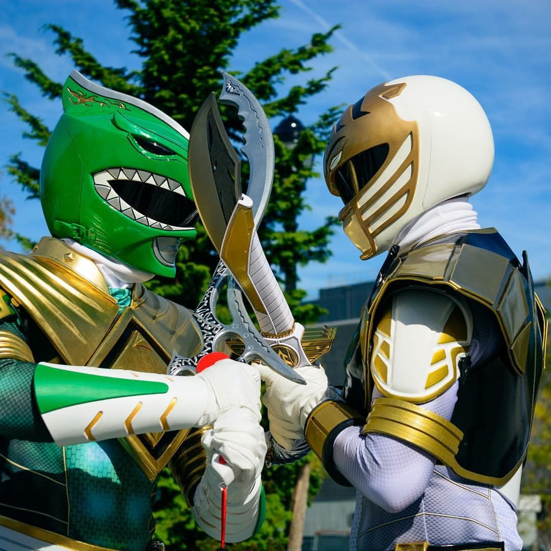 Green Ranger vs White Ranger