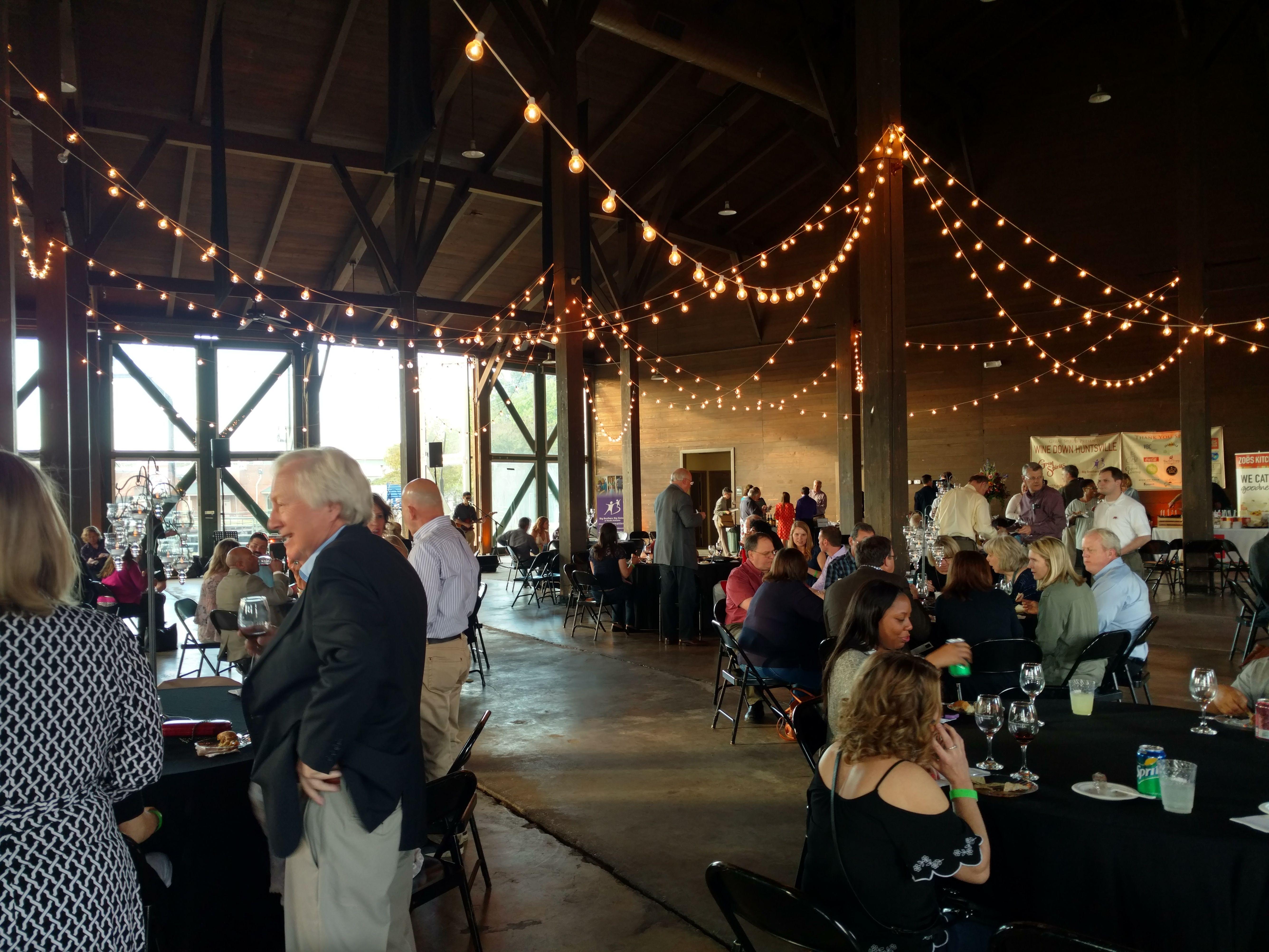 The Roundhouse Huntsville Al Event Wedding Space Space Wedding Wedding Venues Round House