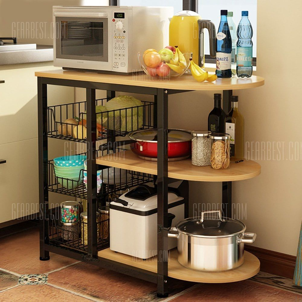 Just 120 73 Buy Kitchen Appliance Organizer Storage Rack Online Shopping At Gearbes Kitchen Appliances Organization Kitchen Design Small Kitchen Organization
