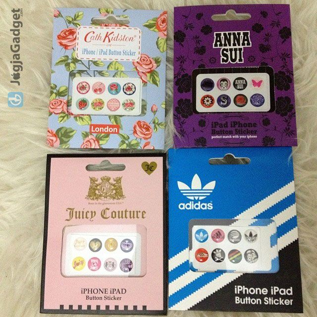 Home button Sticker for iPhone 4, iPhone 5 Apple