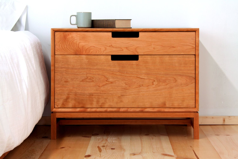 Dresser Forde Contemporary Walnut Scene Angle