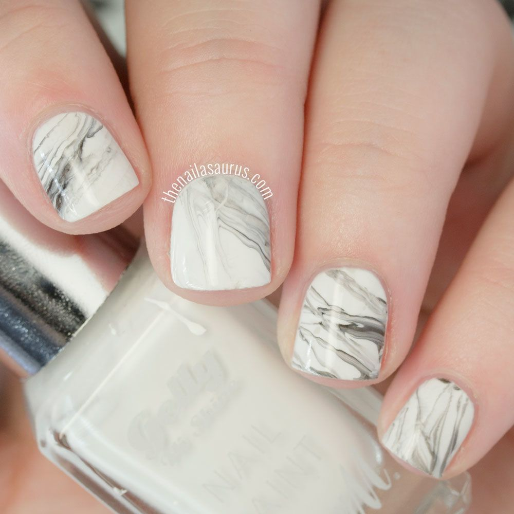 10 Fun Nail Art Ideas If You Have Short Nails | Pinterest | Marble ...