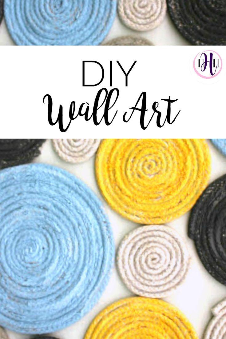 Easy DIY Texture Wall Art Tutorial | Wall Art | Pinterest | Unique ...