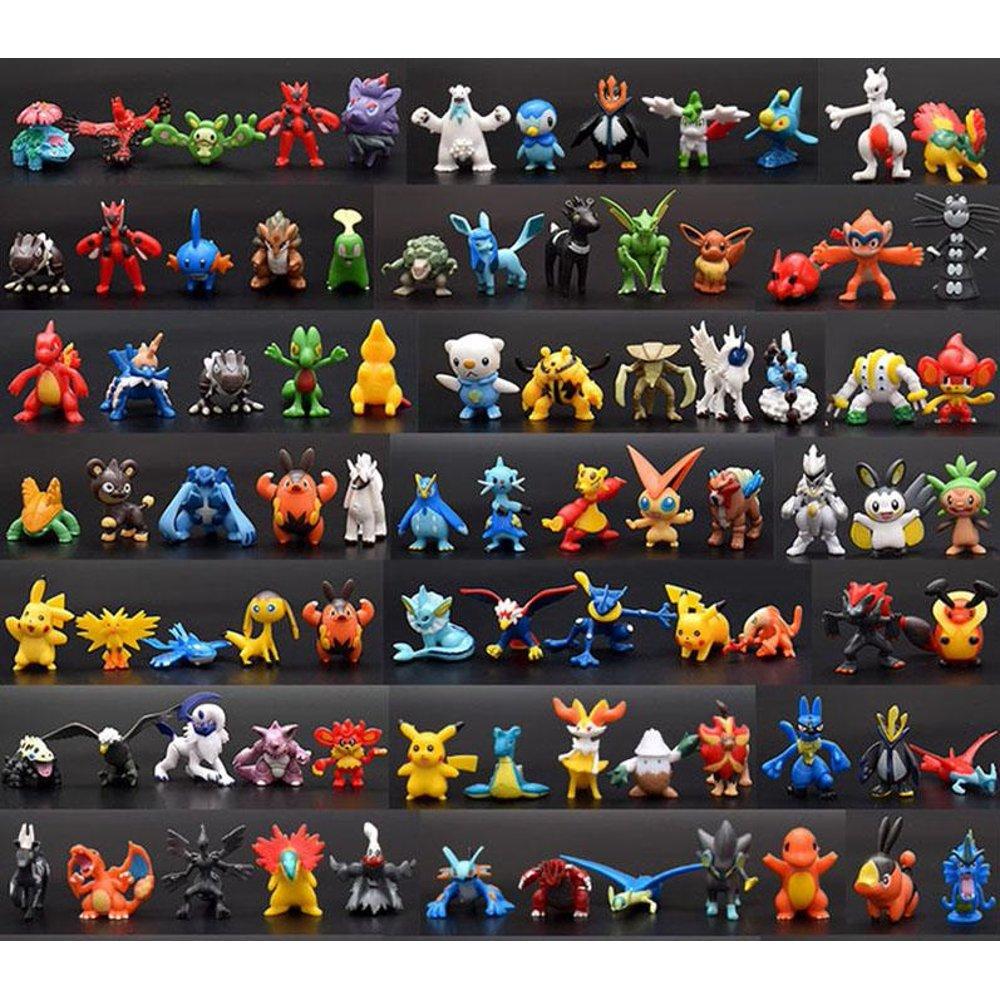 24 Pcs Anime Figure Toy Set 2 3 Cm For Pokeepets Collection Kid S Gift Birthday Decoration Walmart Com In 2021 Pokemon Toy Pokemon Anime