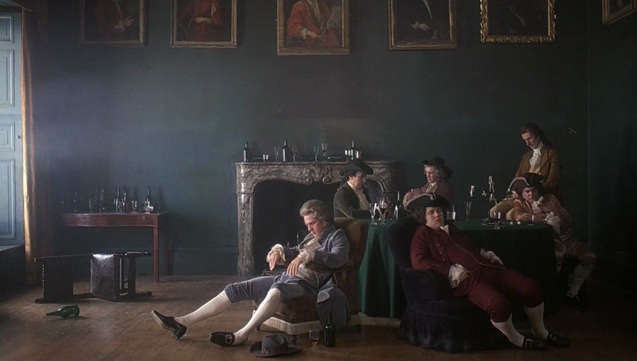 this shot in Barry Lyndon. Looks like a legitimate painting ...