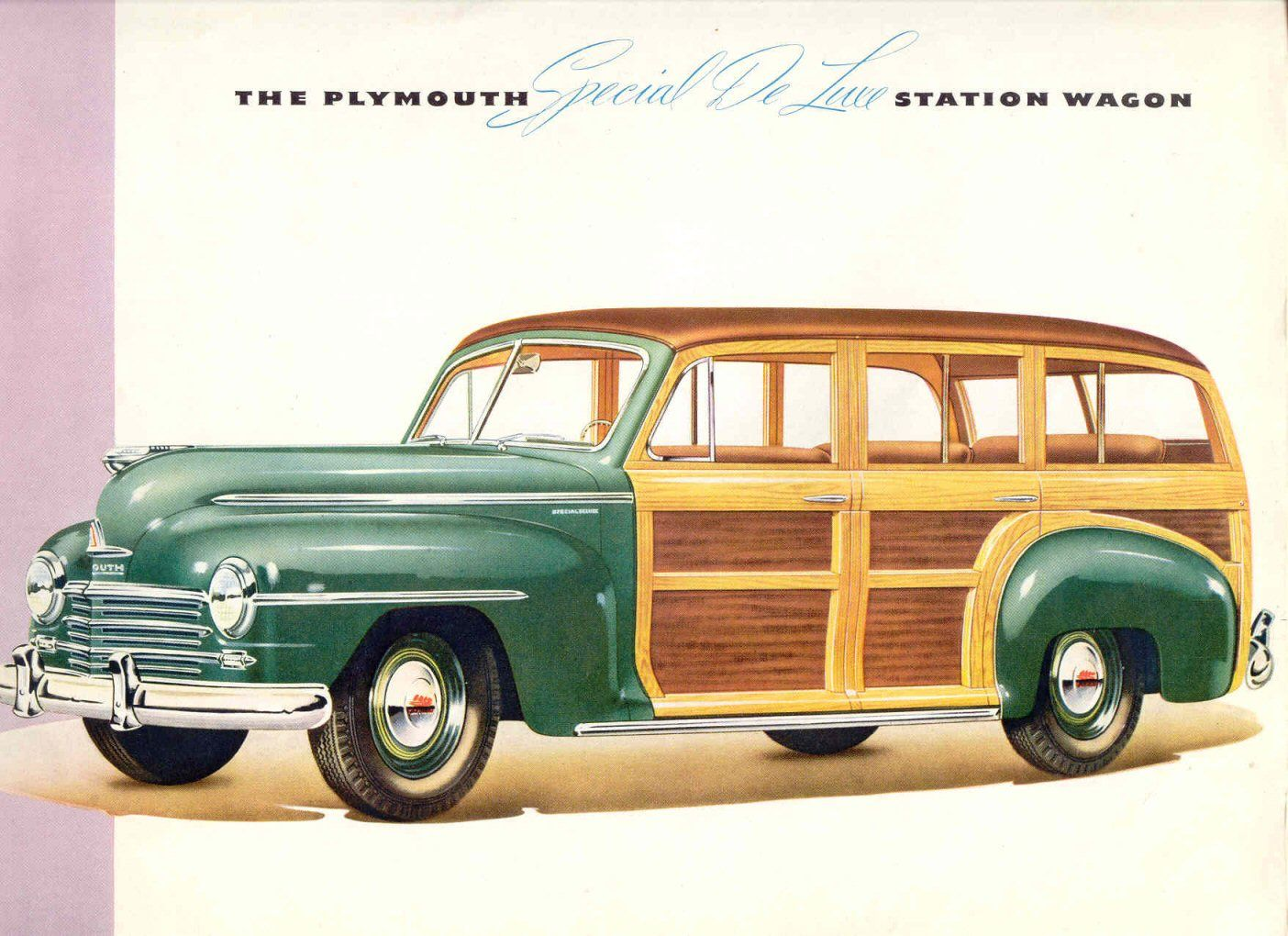 1946 plymouth special de luxe station wagon