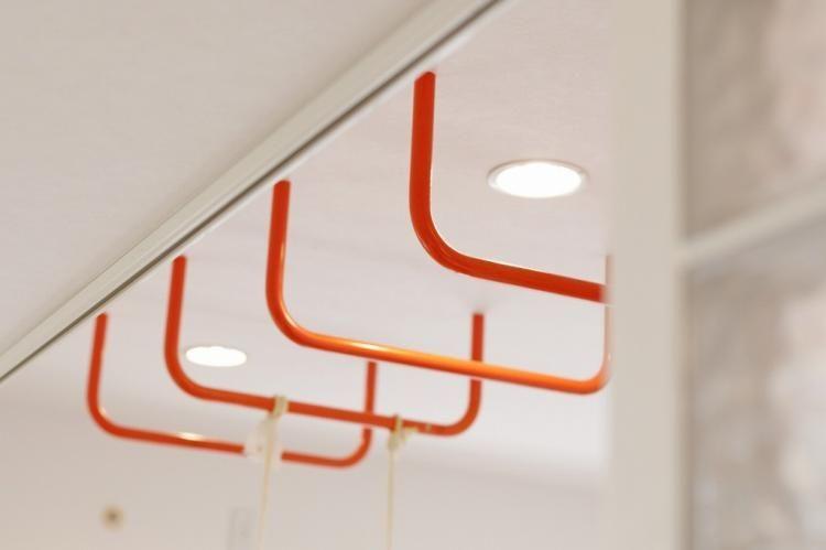 天井裏にしっかり芯材を付ければ こんな風に 雲梯 だって家に付けれ
