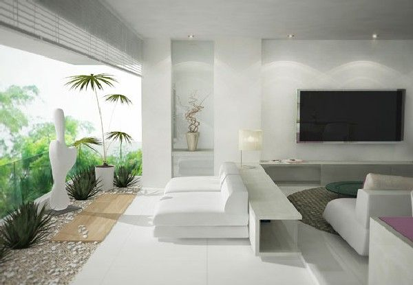 Modern And Luxury Living Room Design With Breath Taking Views Decor