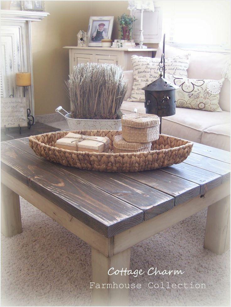 40 stunning chunky farmhouse coffee table ideas with