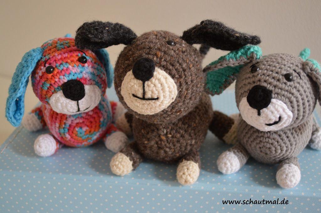 Amigurumi Anleitung Hund : Basset hound puppy amigurumi crochet dog pattern pdf amigurumi