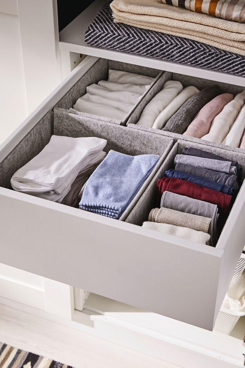 Kleiderschrank Schubladen Ordentlich Halten Mit Komplement Box Set