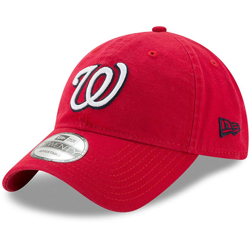finest selection 6e3f6 a3c30 discount code for washington nationals new era core classic 9twenty  adjustable hat red 0612b 13bd9