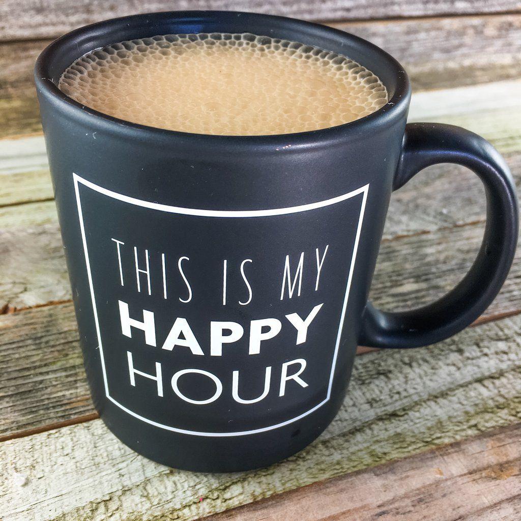 This is my happy hour coffee mug Happy coffee, Mugs