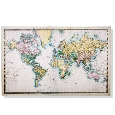 Image for canvas world map from kmart kmart living pinterest image for canvas world map from kmart gumiabroncs Gallery