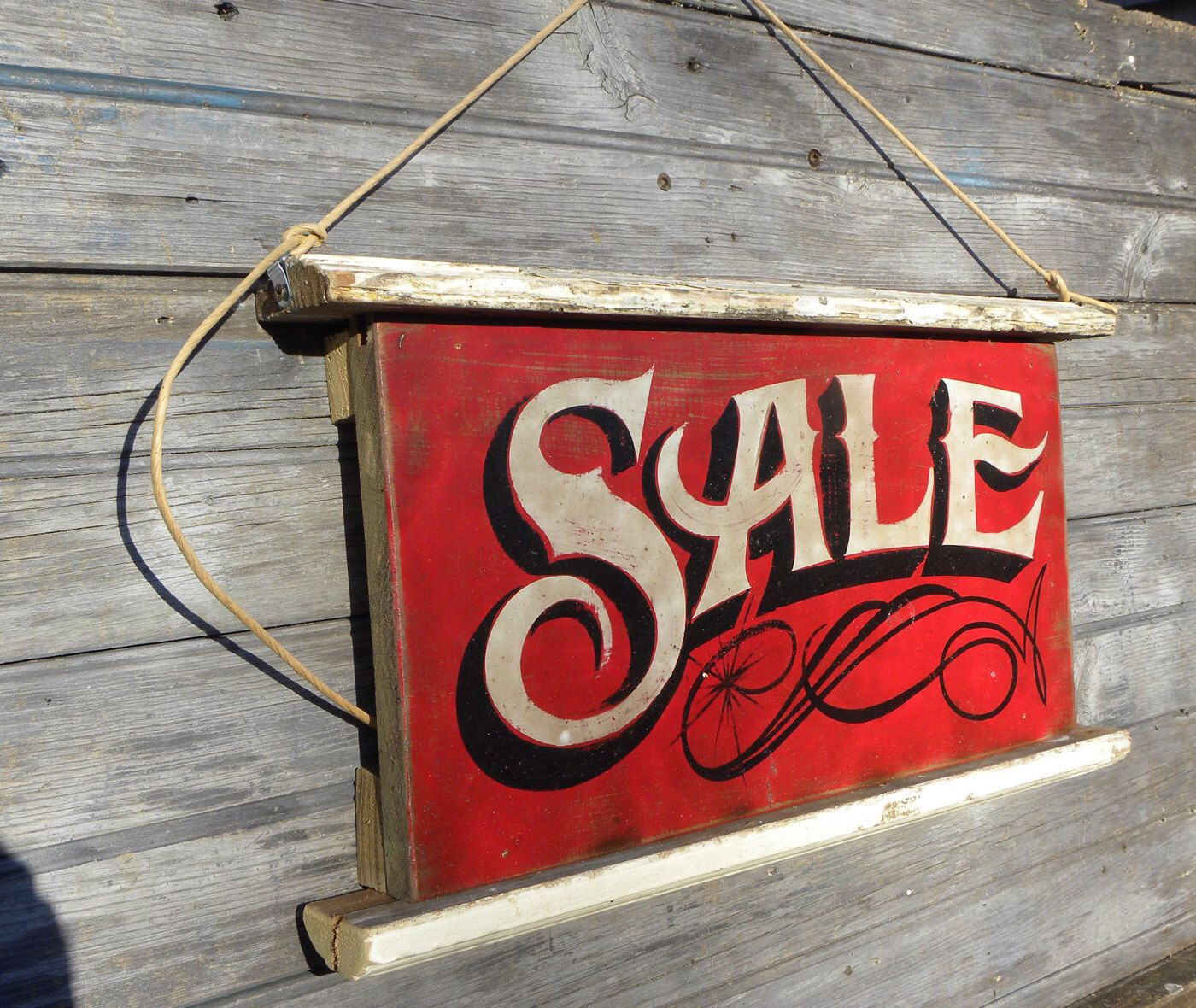 Sale sign hand painted wooden sign z ts s 2 by zekesantiquesigns on etsy