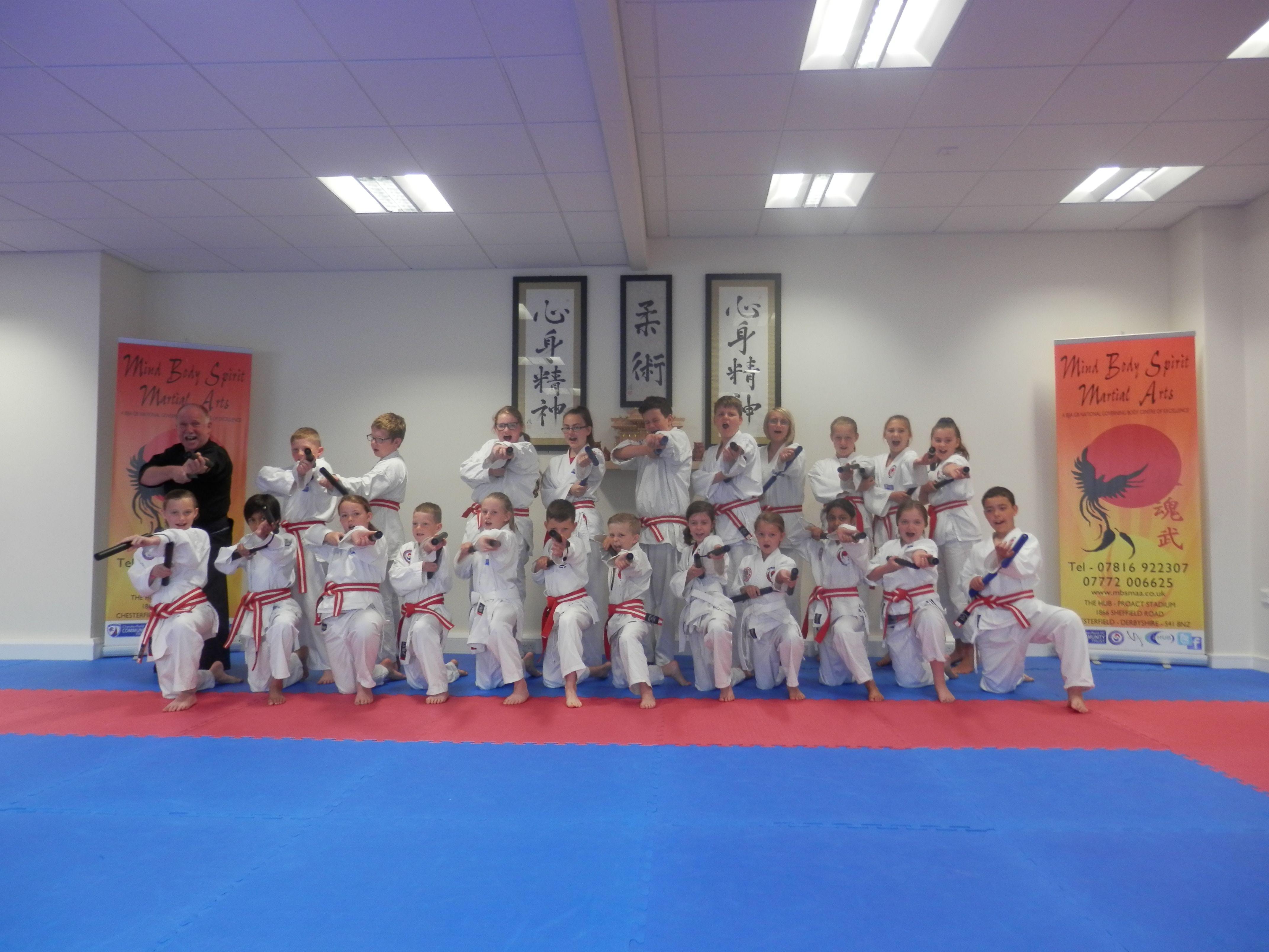 Nunchaku Level 2 Grading July 14 Mind Body Spirit Martial