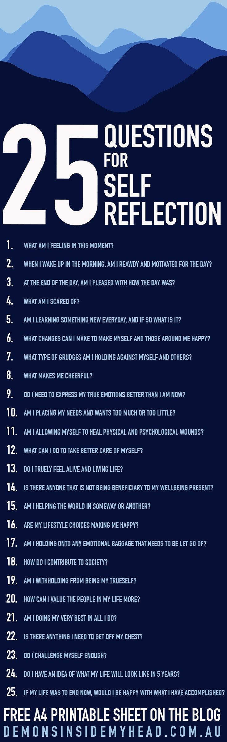 25 Questions For Self Reflection This Or That Questions Journal Questions Self Improvement