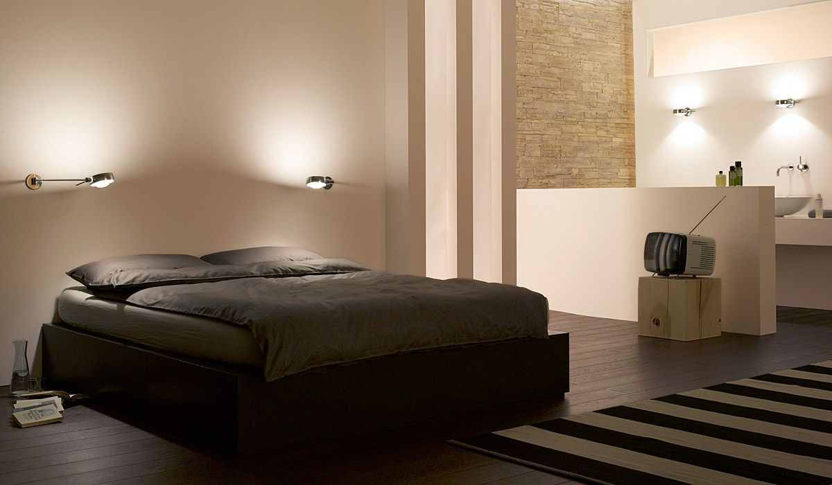 licht im schlafzimmer so entsteht richtige. Black Bedroom Furniture Sets. Home Design Ideas
