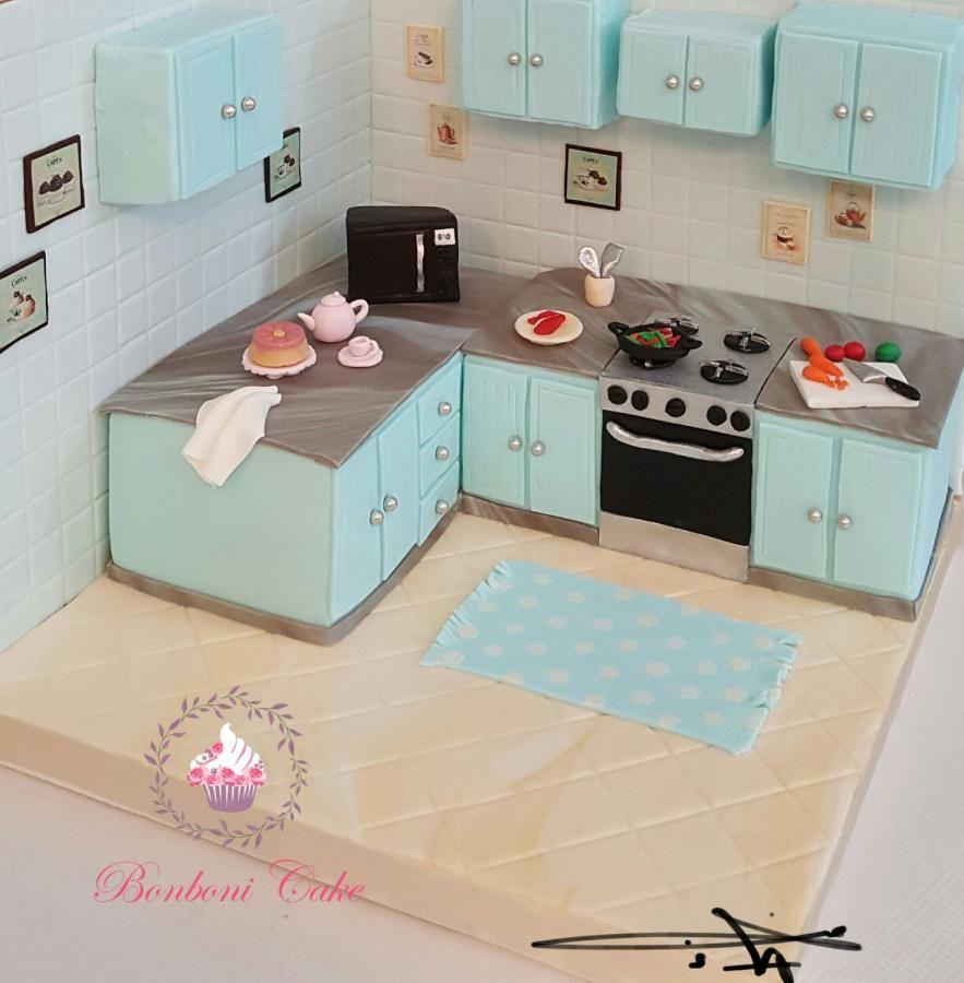 Mumy kitchen cake by Bonboni Cake | Cakes & Cake Decorating ~ Daily ...