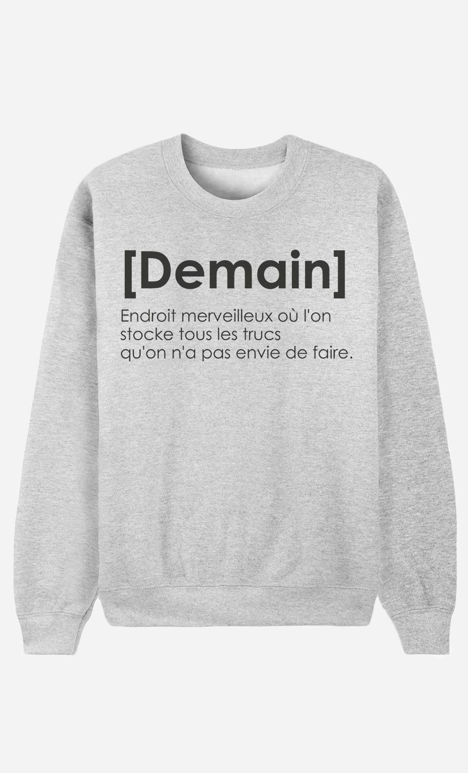 Sweat Femme Français Définition Alfred le Demain de par rrq61w0d