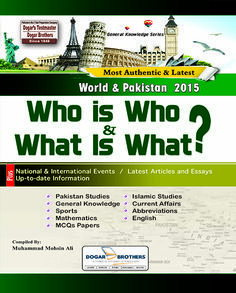 General Knowledge Book 2015