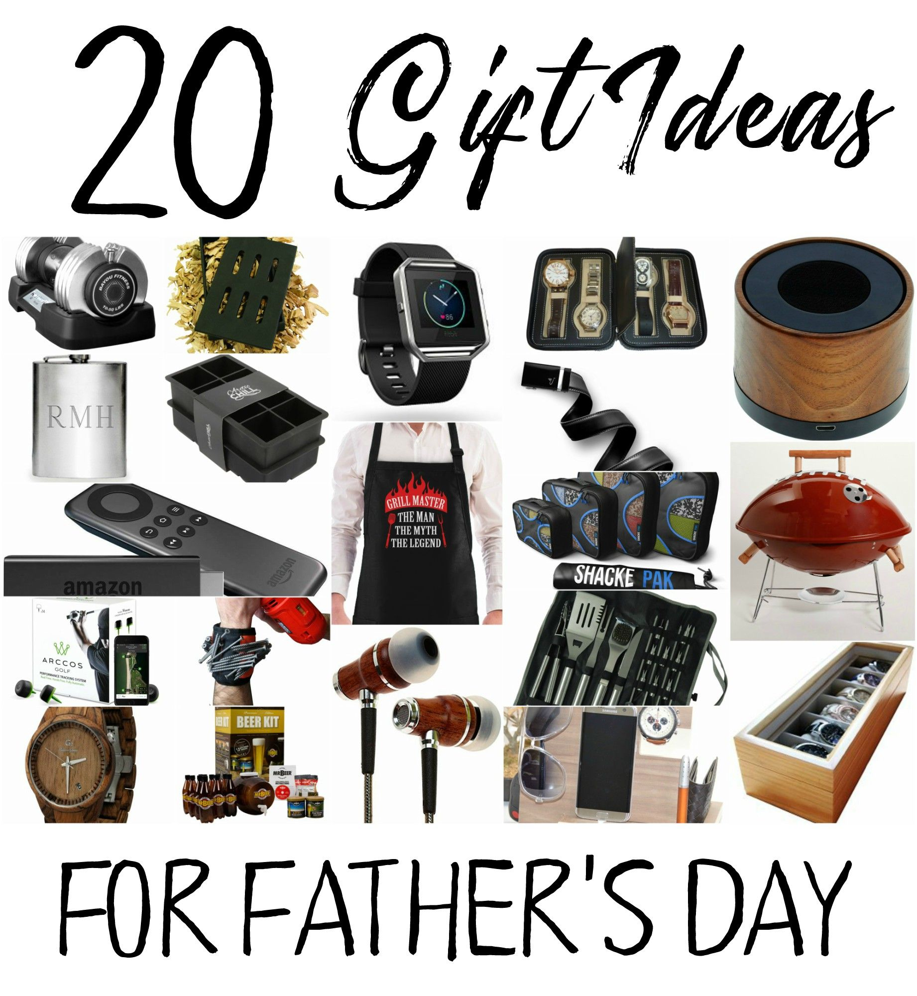 Father's Day Round Up of 20 Gift Ideas Fathers day