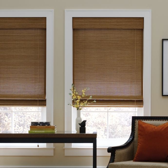 Bed Bath Beyond Blinds.Real Simple Natural Roman 72 Inch Length Shade Bed Bath