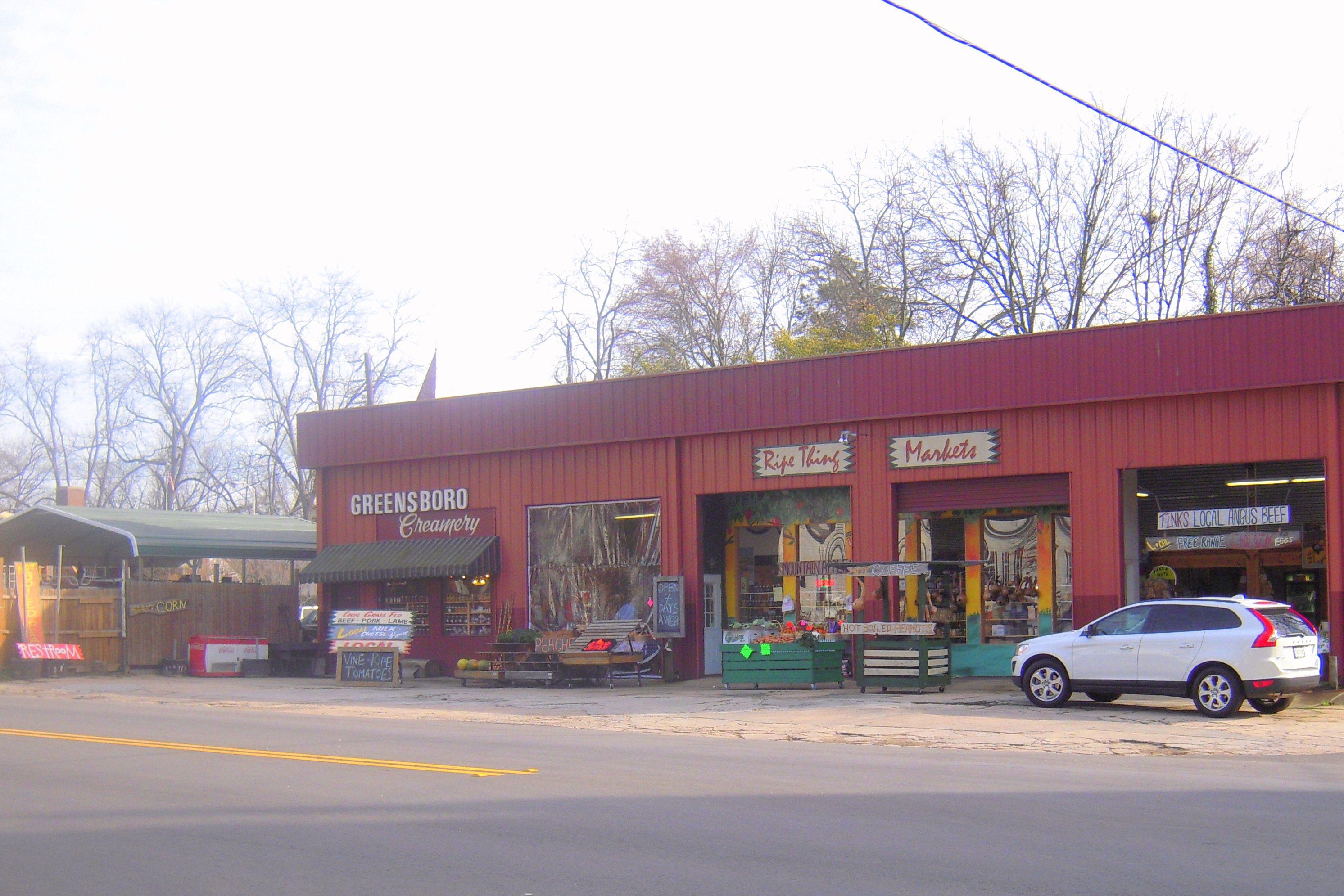 Ripe Thing Market 112 West Broad Street, Greensboro, GA | Favorite ...