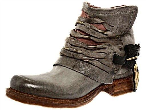 A.S.98 520201 Gris Bottines Boots | Modèle de chaussure